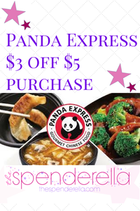 Panda express 3 off 5 purchase two promo codes the for Ella s kitchen coupons